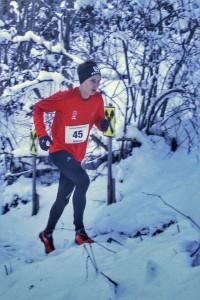 Robert beim diesjährigen Kolsassberg-Run